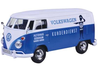MOTORMAX | VOLKSWAGEN T1 GESLOTEN BUS 'KUNDENDIENST VW' 1962 | 1:24