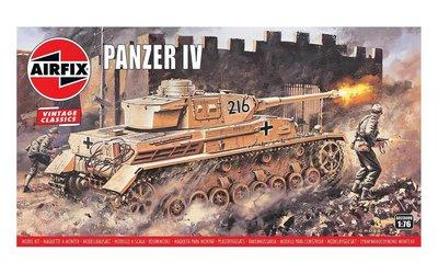AIRFIX CLASSICS | PANZER IV (VINTAGE CLASSICS) | 1:76