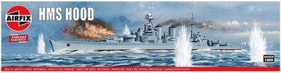 AIRFIX CLASSICS | HMS HOOD (VINTAGE CLASSICS) | 1:600