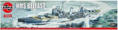 AIRFIX CLASSICS | HMS BELFAST (VINTAGE CLASSICS) | 1:600