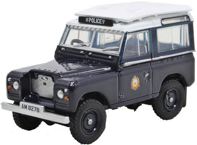 OXFORD DIECAST | LAND ROVER SERIES II 'HONG KONG POLICE' | 1:76