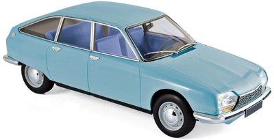 NOREV | CITROEN GS CLUB (CAMARGUE BLUE) 1972 | 1:18