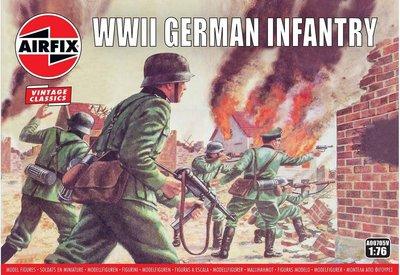 AIRFIX CLASSICS | WWII GERMAN INFANTRY (VINTAGE CLASSICS) | 1:76
