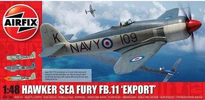 AIRFIX | HAWKER SEA FURY FB.11 'EXPORT EDITION' (MARINE LUCHTVAARTDIENST NL) | 1:48