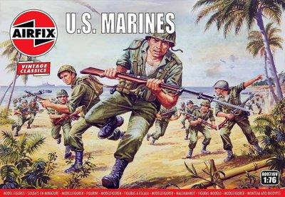 AIRFIX CLASSICS | U.S. MARINES WWII (VINTAGE CLASSICS) | 1:76
