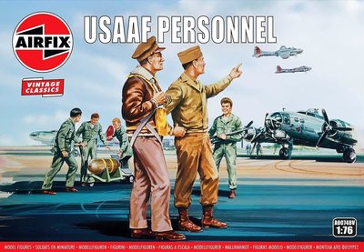 AIRFIX CLASSICS | USAAF PERSONNEL WWII (VINTAGE CLASSICS) | 1:76