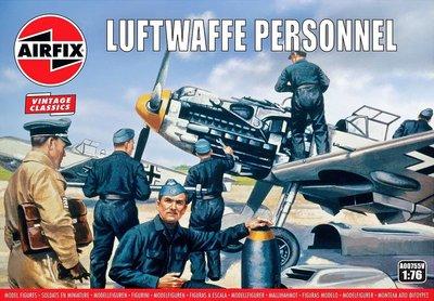 AIRFIX CLASSICS   LUFTWAFFE PERSONNEL WWII (VINTAGE CLASSICS)   1:76