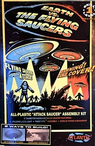 ATLANTIS | U.F.O. EARTH VS THE FLYING SAUCERS MET LED (SNAPKIT) | 5""