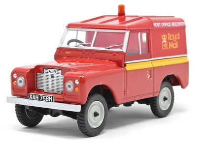 OXFORD DIECAST | LAND ROVER SERIES IIA SWB HARD TOP 'ROYAL MAIL' | 1:43