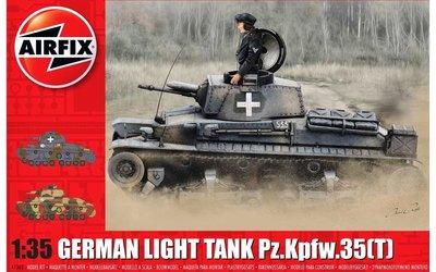 AIRFIX   GERMAN LIGHT TANK Pz.Kpfw.35T (PLASTIC BOUWPAKKET)    1:35