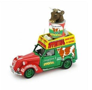 BRUMM | FIAT 1100 FURGONE 34° GIRO D'ITALIA 'CARNE SIMMENTHAL' 1951 | 1:43