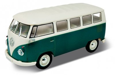 Welly Rc Volkswagen T1 Bus Quot Ready To Run Quot Groen Wit 1963