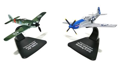 ATLAS/OXFORD | MUSTANG P-51D & FOCKE WULF 190A-5 'DUELLING FIGHTERS' 1944 | 1:72