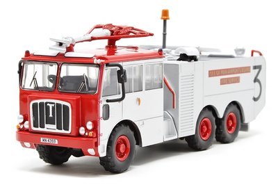 OXFORD DIECAST | THORNYCROFT NUBIAN 'ISLE OF MAN AIRPORTS BOARD FIRE SERVICE' | 1:76