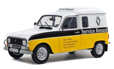 SOLIDO | RENAULT 4 F4 BESTEL 'RENAULT SERVICE' 1975 | 1:18