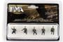 PMA | GERMAN VEHICLE RIDERS B (ZUGKRAFTWAGEN) 5 STUKS | 1:72_